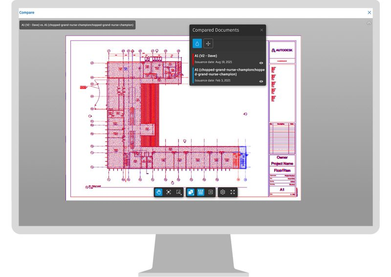 Autodesk Takeoff - Sheet compare