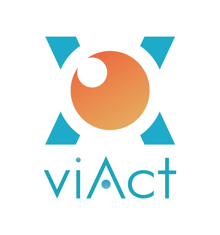 viAct Logo, Autodesk Construction Cloud Integration